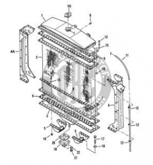 1965 mustang engine partment diagram